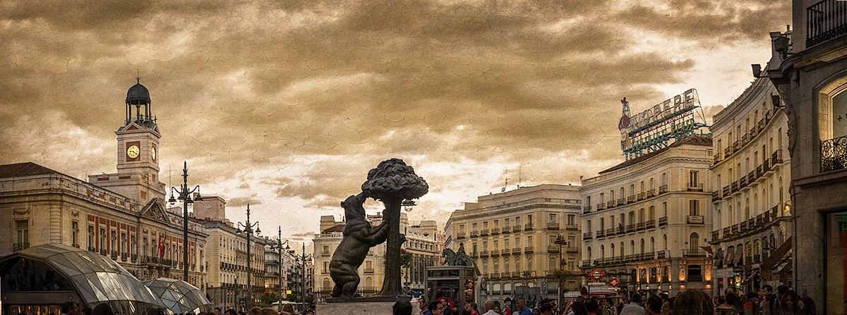 Cuadro puerta del sol madrid n 01 for Puerta del sol madrid fotos