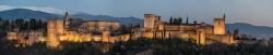 Fotografía panorámica de La Alhambra de Granada nº05