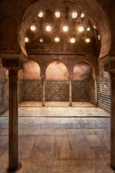 Fotografía vertical de la Alhambra de Granada nº02