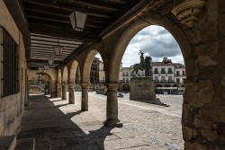 Fotografía horizontal de la Plaza Mayor de Trujillo, Cáceres nº02