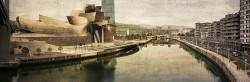 Fotografía panoramica del Museo Guggenheim, Bilbao nº03