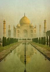 Fotografía vertical Taj Mahal en Agra, India nº01