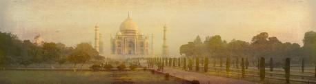 Fotografía panorámica Taj Mahal en Agra, India nº01