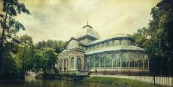 Cuadro del Palacio de Cristal del Retiro de Madrid nº08