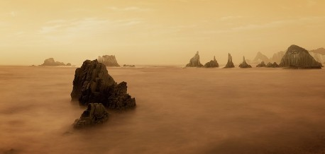 Cuadro panorámico Playa de la Gueirua, Asturias nº02