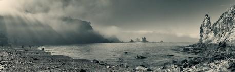 Cuadro panorámico Playa del Silencio, Asturias nº01