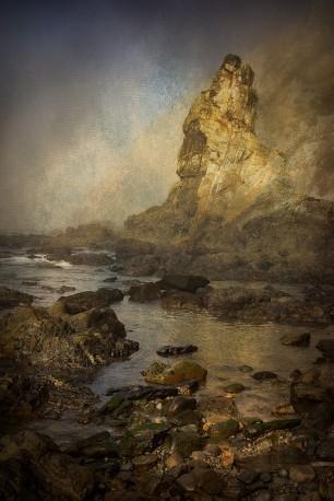Cuadro vertical Playa del Silencio, Asturias nº01