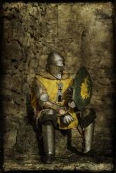 Cuadro torneo combate medieval de Pedraza, Segovia nº02