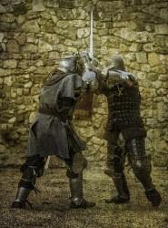 Cuadro torneo combate medieval de Pedraza, Segovia nº03