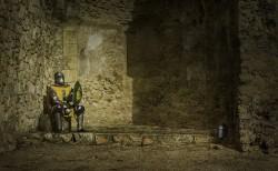 Cuadro torneo combate medieval de Pedraza, Segovia nº04