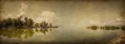 Cuadro panorámico Lago Balaton, Hungria nº04