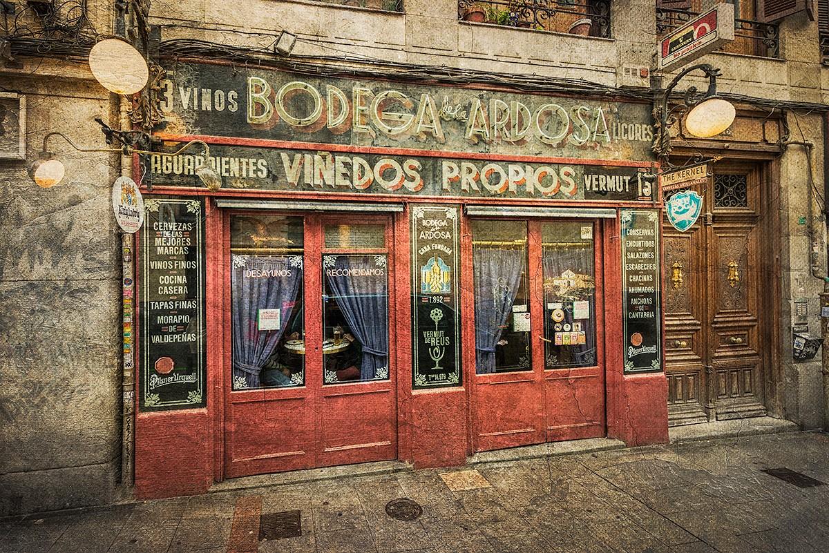 Cuadro Bodega De La Ardosa Madrid Nº01