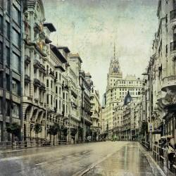 Cuadro de la Gran Vía de Madrid nº04