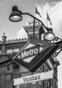 """Cuadro del metro """"Ventas"""" de Madrid nº03"""
