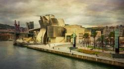 Fotografía panorámica del Museo Guggenheim, Bilbao nº05