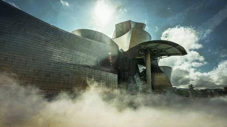 Fotografía panorámica del Museo Guggenheim, Bilbao nº07