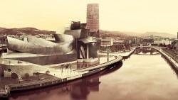Fotografía panorámica del Museo Guggenheim, Bilbao nº08