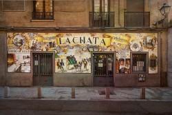 Cuadro fachada Restaurante la Chata Madrid nº01
