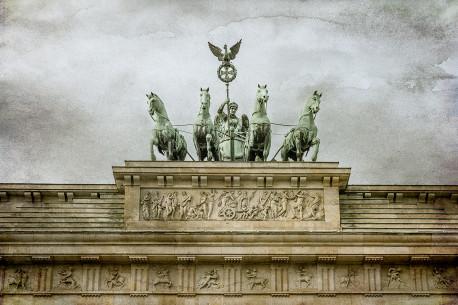 Cuadro horizontal Puerta de Brandeburgo, Berlín nº01