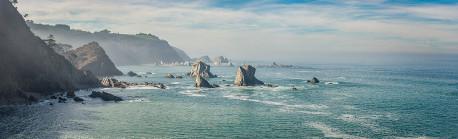 Cuadro panorámico Playa del Silencio, Asturias nº03