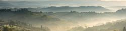 Cuadro panorámico San Gimignano en la Toscana, Italia nº01