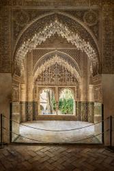 Cuadro vertical de la Alhambra de Granada nº09