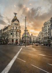 Imagen de la Gran Vía y la Calle Alcalá de Madrid nº01