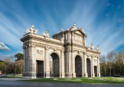Imagen de la Puerta de Alcalá de Madrid nº02