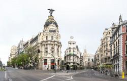 Imagen de la Gran Vía y la Calle Alcalá de Madrid nº05