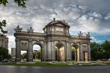 Imagen de la Puerta de Alcalá de Madrid nº03
