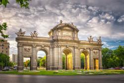 Imagen de la Puerta de Alcalá de Madrid nº04
