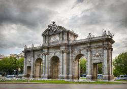 Imagen de la Puerta de Alcalá de Madrid nº06