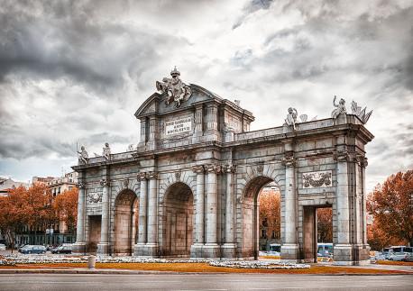 Imagen de la Puerta de Alcalá de Madrid nº07