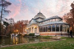 Cuadro del Palacio de Cristal del Retiro de Madrid nº01