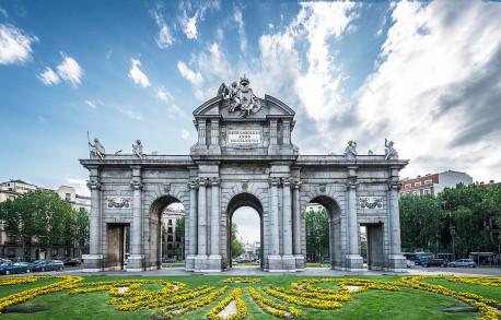 Imagen de la Puerta de Alcalá de Madrid nº01