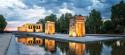Cuadro Templo de Debod de Madrid nº01