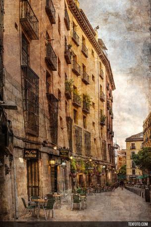 Cuadro Cava de San Miguel en Madrid nº01