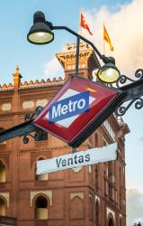 """Imagen del metro """"Ventas"""" de Madrid nº01"""