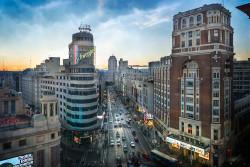 Imagen Plaza del Callao (anocheciendo) Madrid nº02