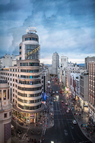 Imagen Edificio Carrión y Calle Gran Vía Madrid nº04
