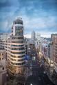 Cuadro Edificio Carrión y Calle Gran Vía Madrid nº04