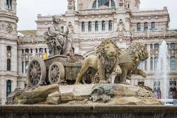 Imagen fuente de Cibeles de Madrid nº01