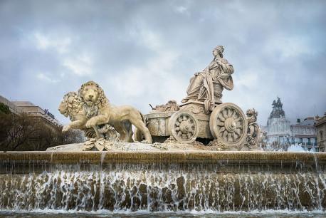Imagen fuente de Cibeles de Madrid nº02