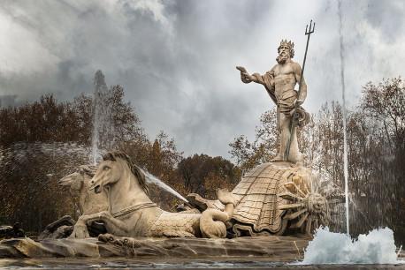 Imagen fuente de Neptuno de Madrid nº01