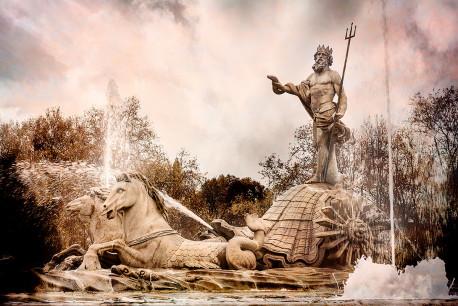 Imagen fuente de Neptuno de Madrid nº02