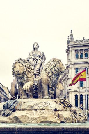 Imagen fuente de Cibeles de Madrid nº03