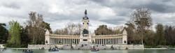 Imagen lago El Retiro y Monumento a Alfonso XII de Madrid nº01