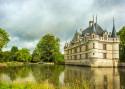 Cuadro Castillo de L'islette en Azay le Rideau Francia nº01