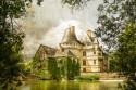 Cuadro Castillo de L'islette en Azay le Rideau Francia nº02