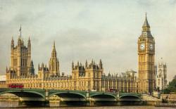 Cuadro Torre del Reloj (Big Ben) Londres nº18